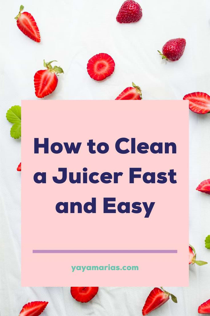 Clean a juicer