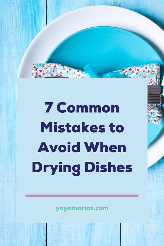 How to dry dishes