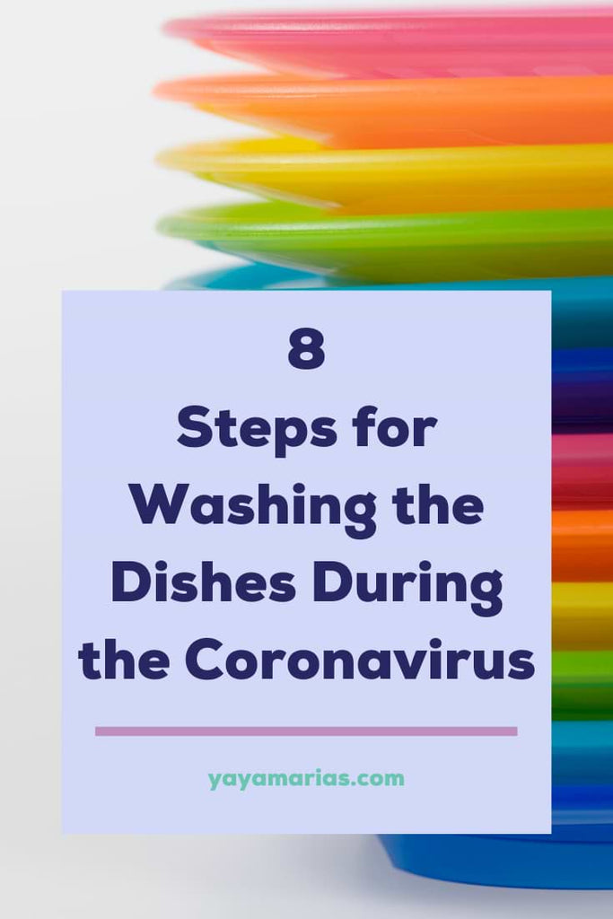 Washing dishes coronavirus
