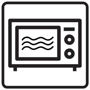 What is microwave safe symbol