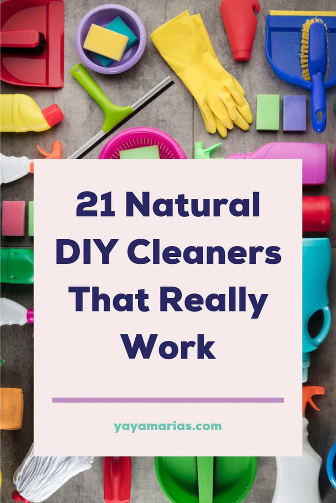 Natural DIY homemade cleaners