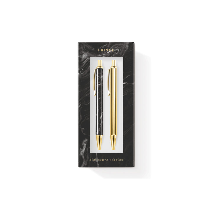 FRINGE STUDIO MARBLE PEN & PENCIL SET