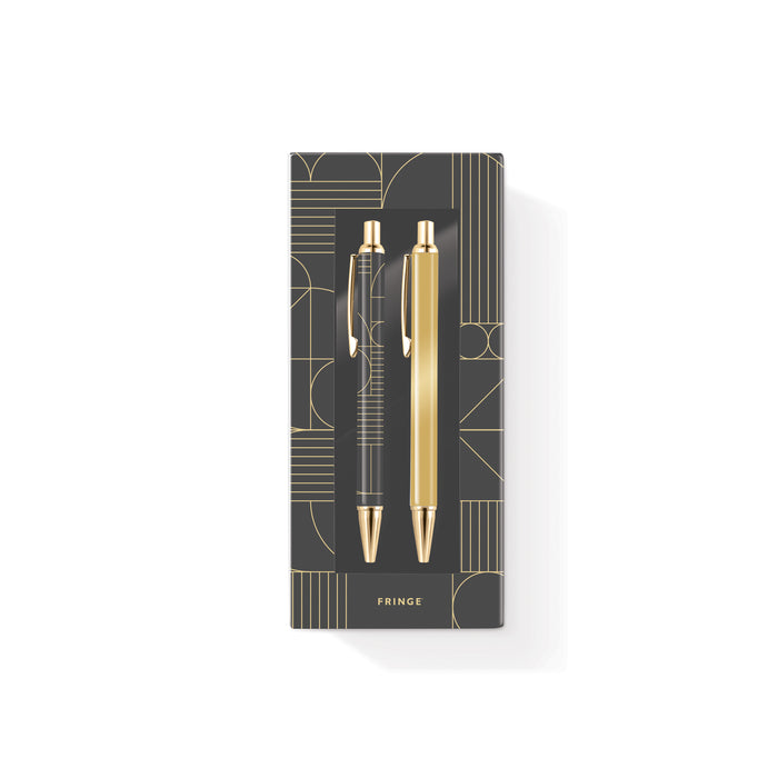 FRINGE STUDIO DECO PEN & PENCIL SET