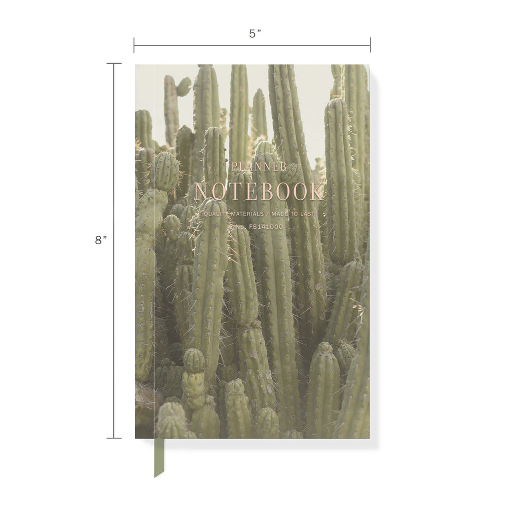 FRINGE STUDIO TALL CACTUS PLANNER NOTEBOOK