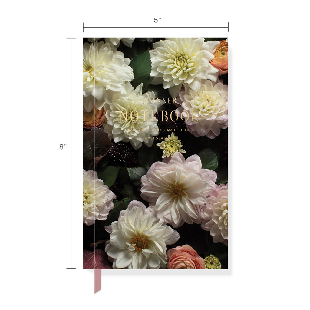 FRINGE STUDIO DARK FLORAL PLANNER NOTEBOOK