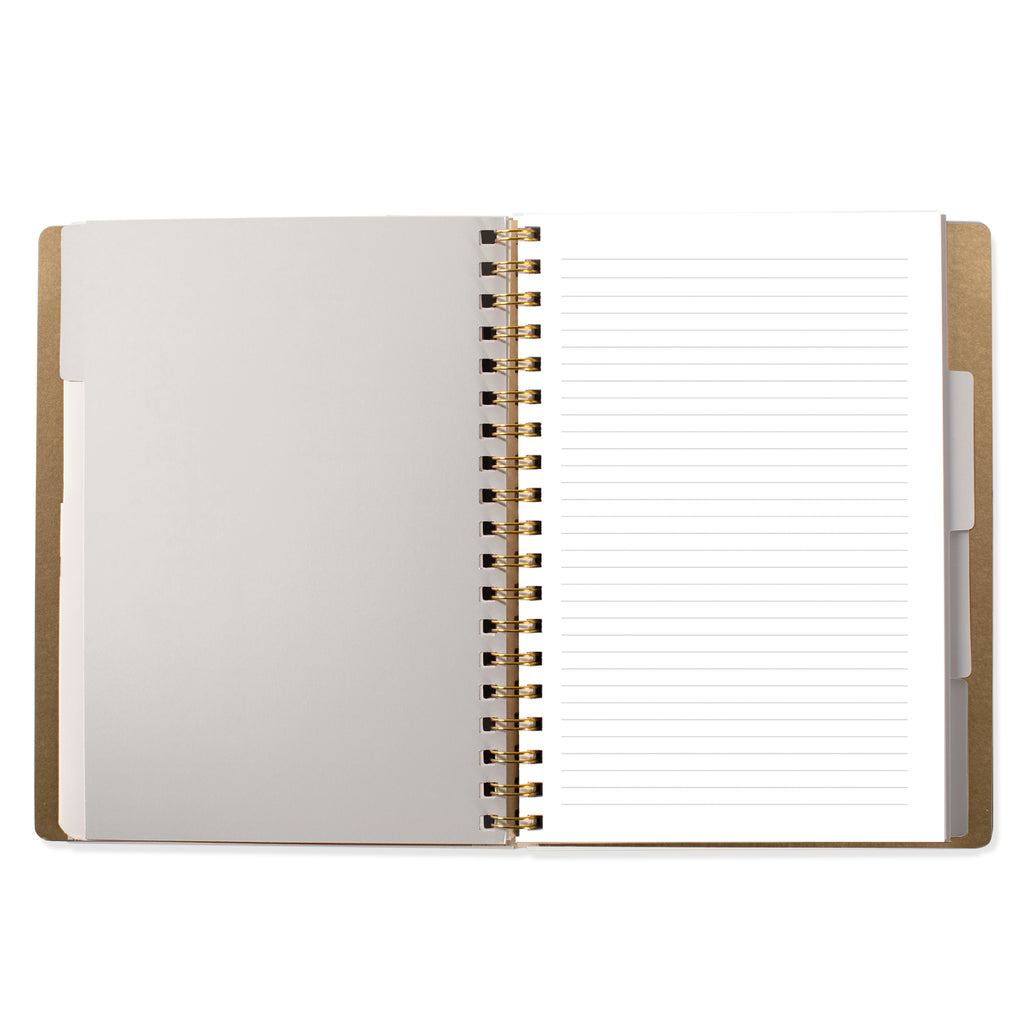 FRINGE STUDIO BLACK LARGE WORKBOOK