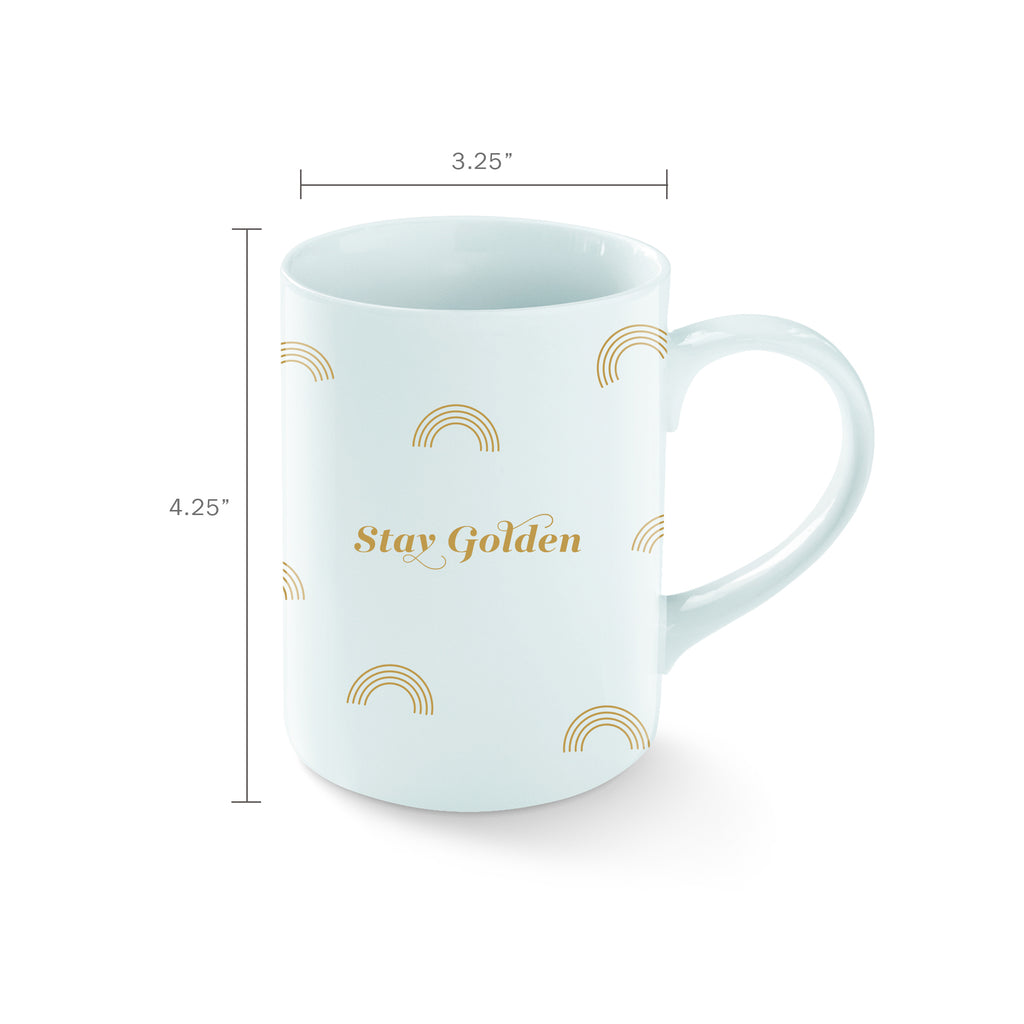 FRINGE STUDIO STAY GOLDEN MUG