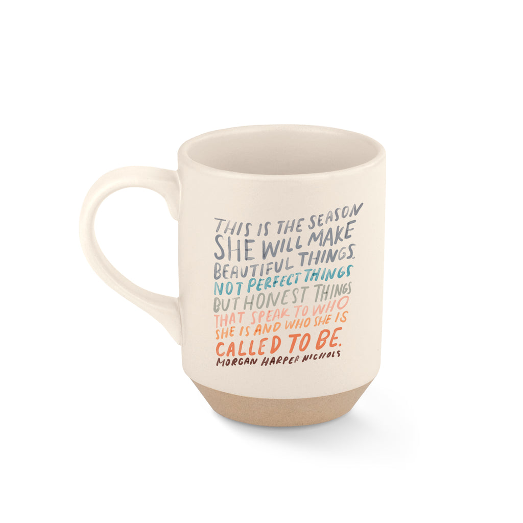 FRINGE STUDIO THE SEASON STONEWARE MUG