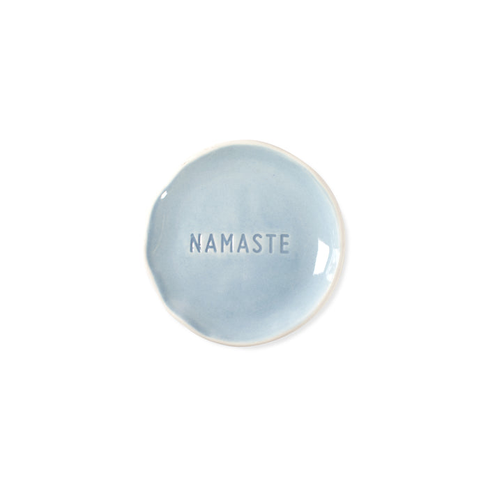 FRINGE STUDIO NAMASTE STAMPED WORD TRAY