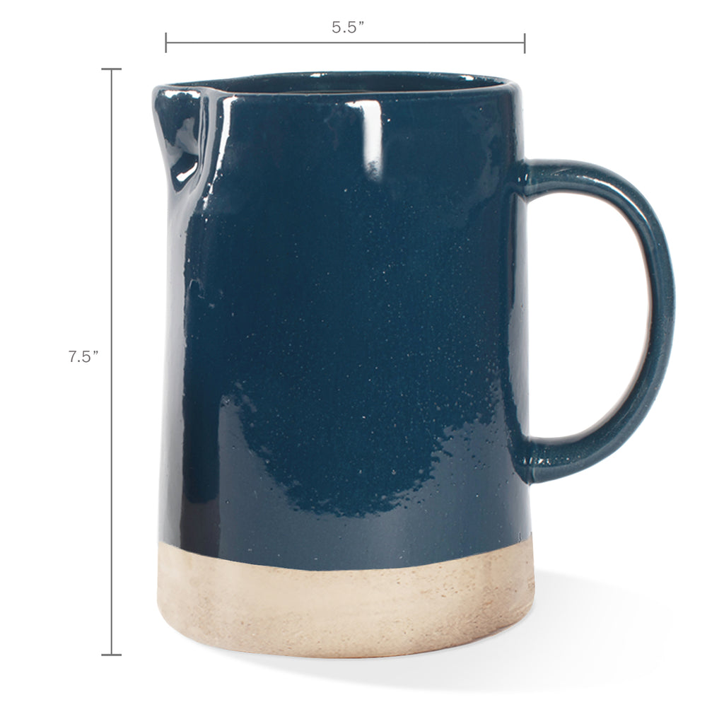 FRINGE STUDIO INDIGO PITCHER