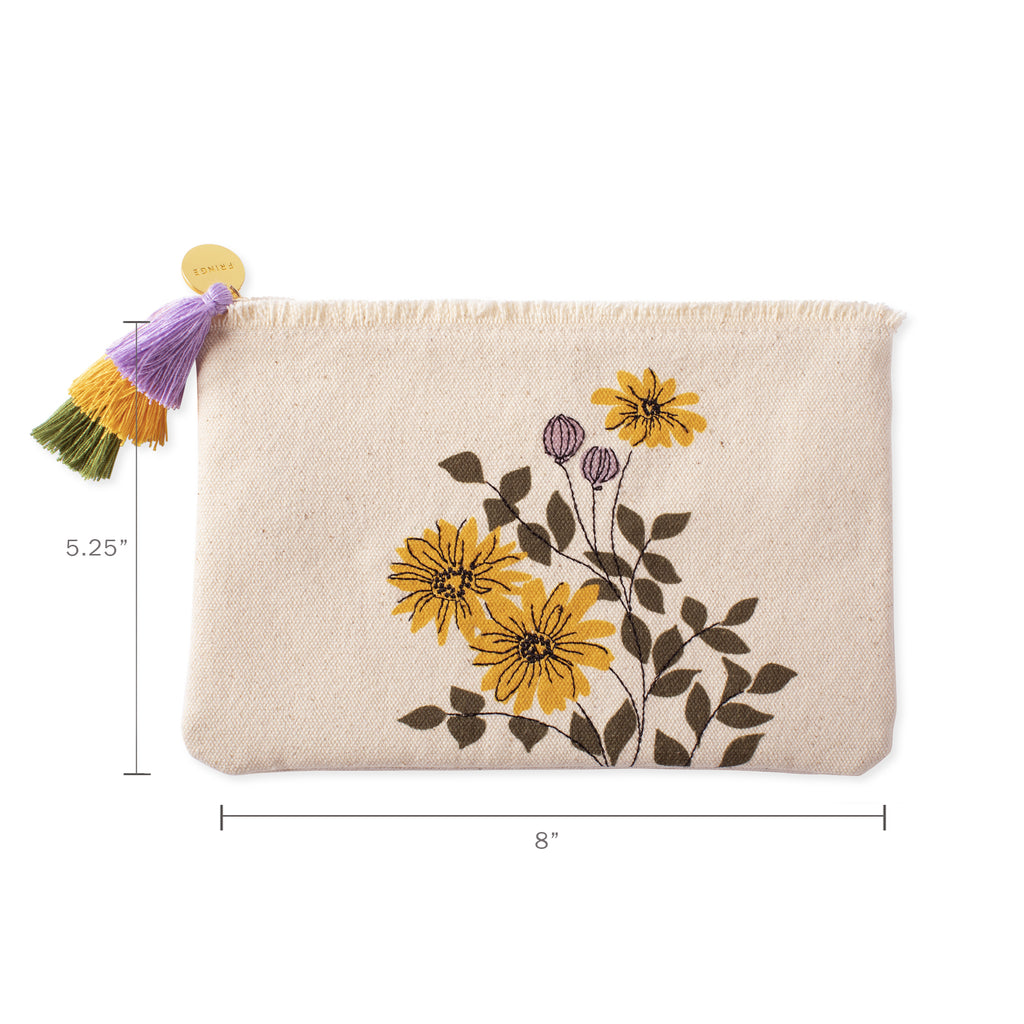 FRINGE STUDIO DAISIES POUCH