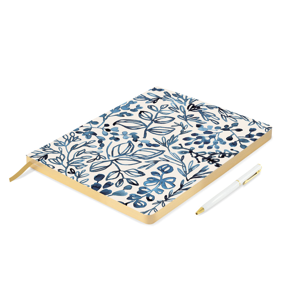 fringe_studio_indigo_leaf_journal