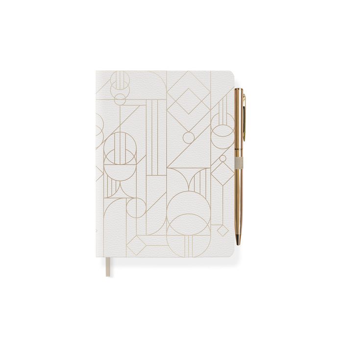 FRINGE STUDIO DECO SHAPES JOURNAL WITH SLIM PEN
