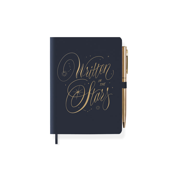 FRINGE STUDIO WRITTEN STARS JOURNAL WITH SLIM PEN