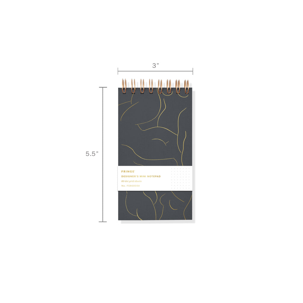 FRINGE STUDIO FIGURE MINI DESIGNER'S NOTEPAD