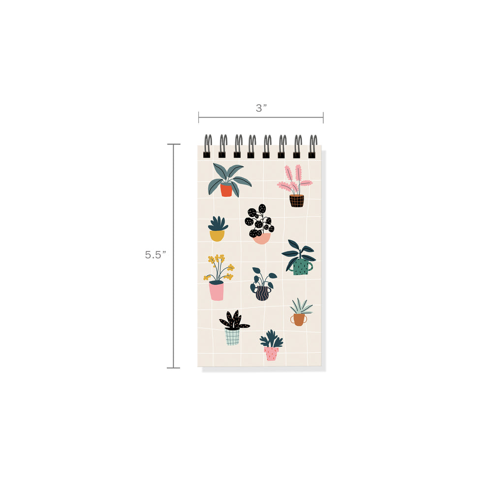 FRINGE STUDIO HOUSE PLANTS MINI NOTEPAD