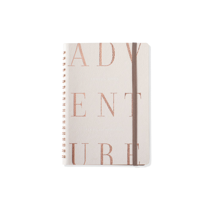 FRINGE STUDIO IVORY CLASSIC TYPE SMALL TRAVEL BOOK