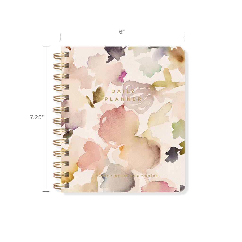 FRINGE STUDIO FLORAL NON-DATED DAILY PLANNER