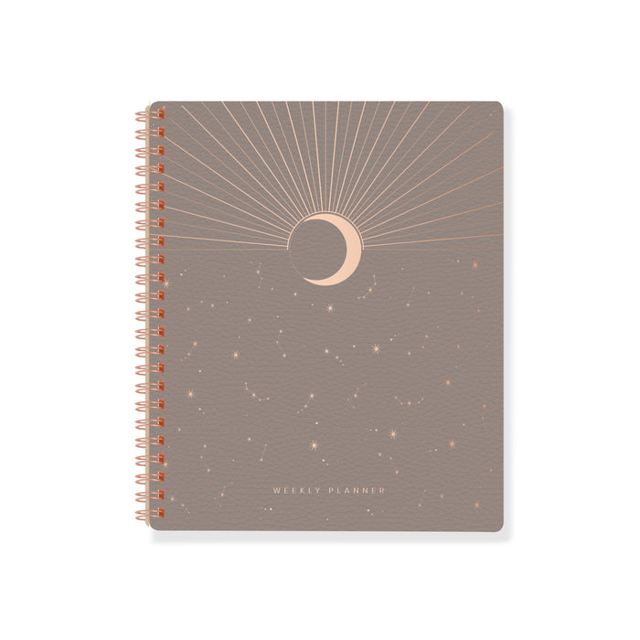 FRINGE STUDIO MOON RISE NON-DATED WEEKLY PLANNER