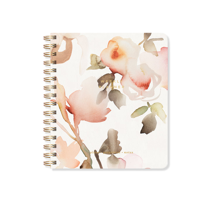 FRINGE STUDIO FLORAL NON-DATED WEEKLY PLANNER
