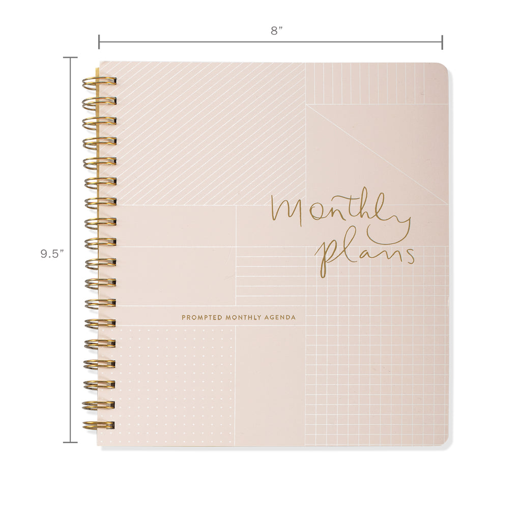 FRINGE STUDIO MONTHLY PLANS NON-DATED MONTHLY PLANNER