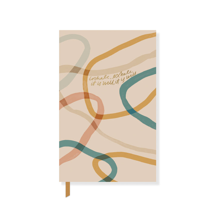 FRINGE STUDIO INHALE PAPERBACK NOTEBOOK