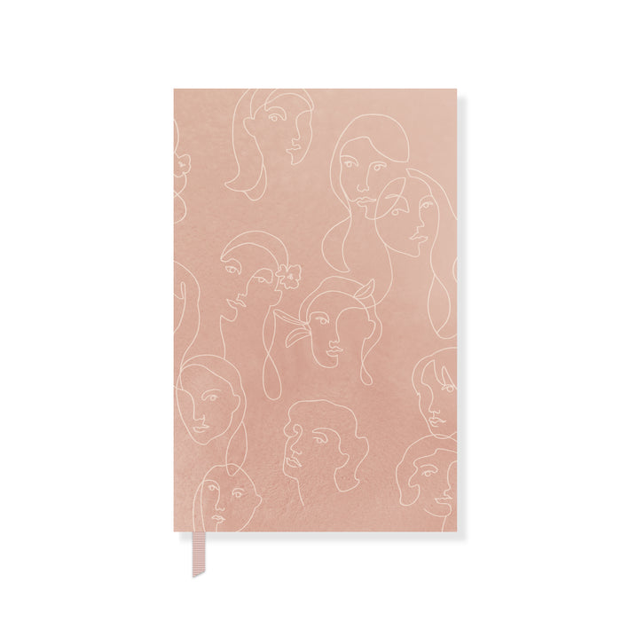 FRINGE STUDIO FACES PAPERBACK NOTEBOOK