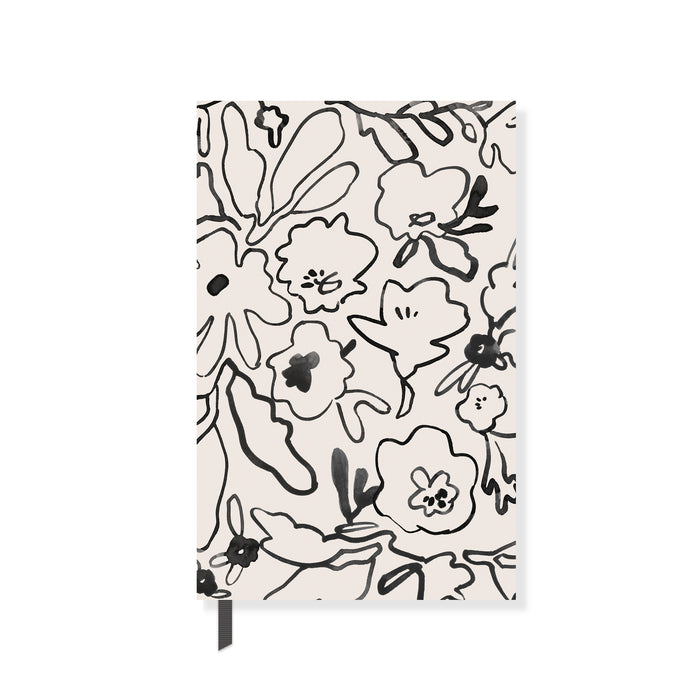 FRINGE STUDIO MESSY FLOWER PAPERBACK NOTEBOOK