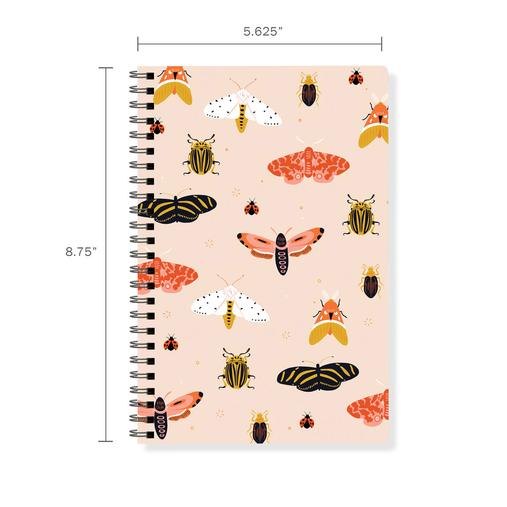FRINGE STUDIO MOTHS SPIRAL JOURNAL