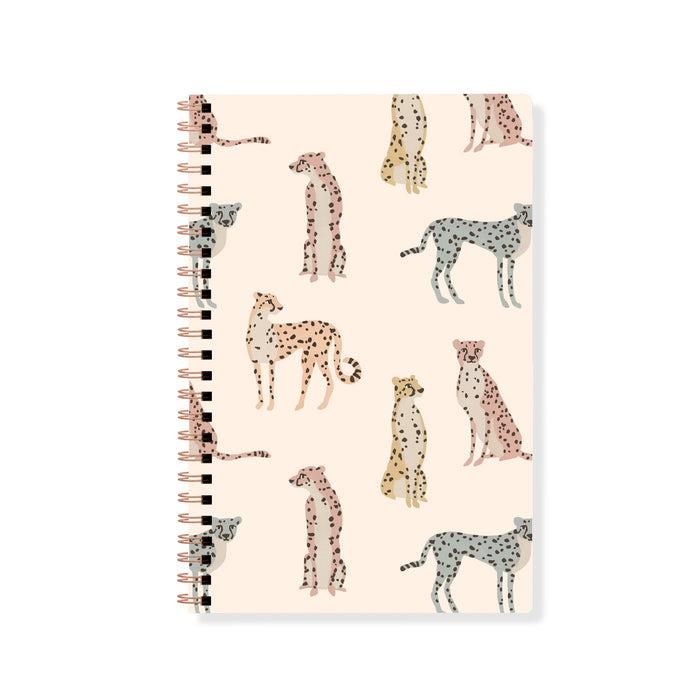 FRINGE STUDIO CHEETAHS SPIRAL JOURNAL