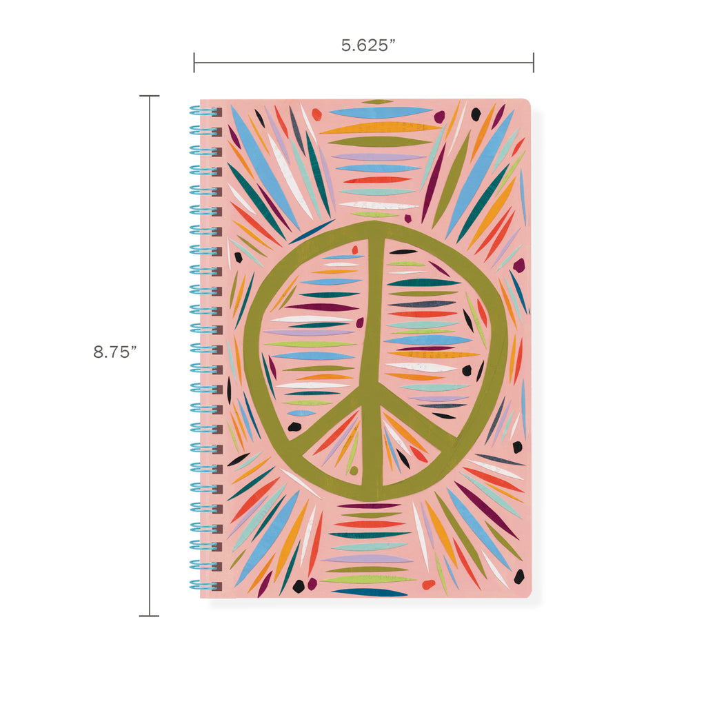 FRINGE STUDIO PEACE SPIRAL JOURNAL