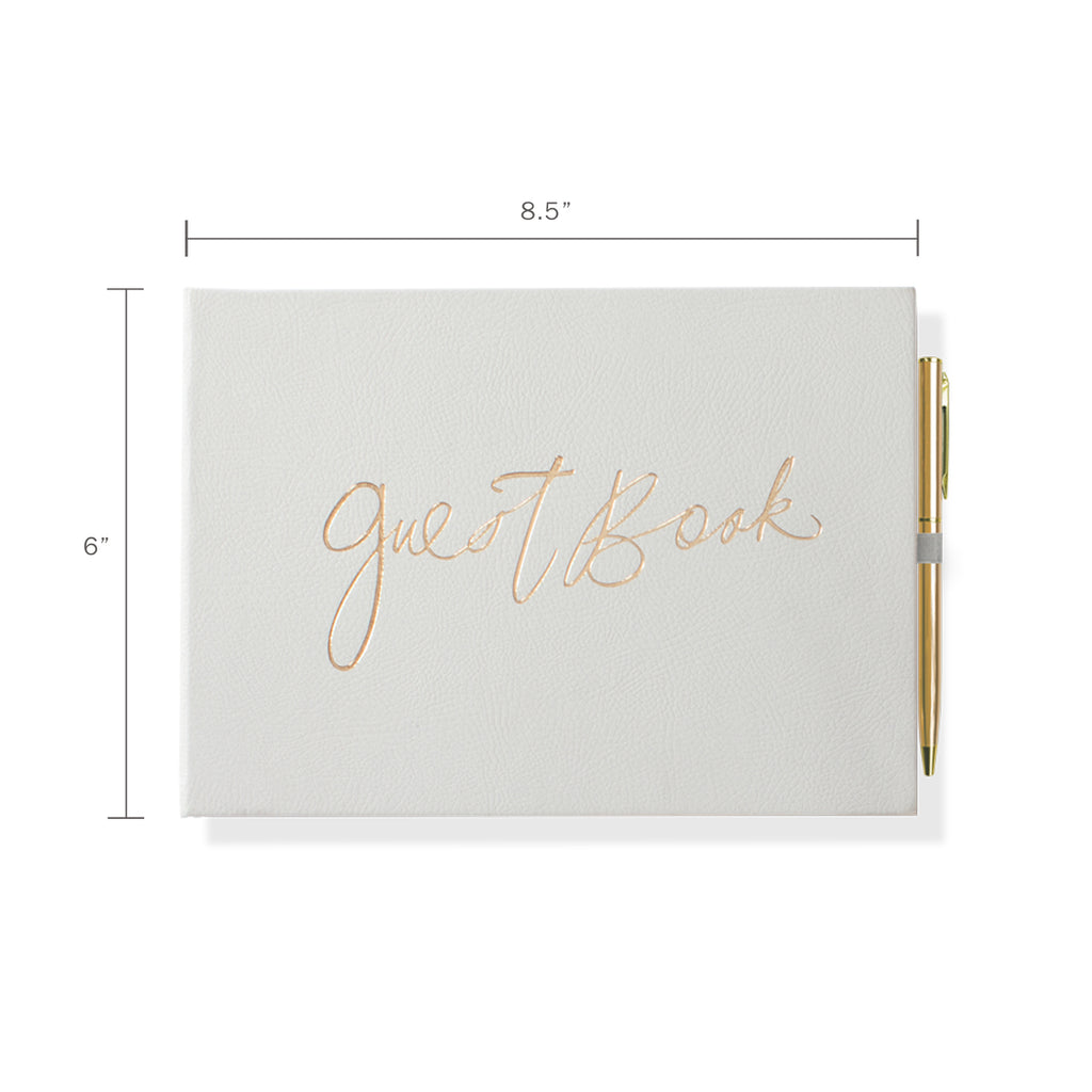 FRINGE STUDIO GRAY GUEST BOOK