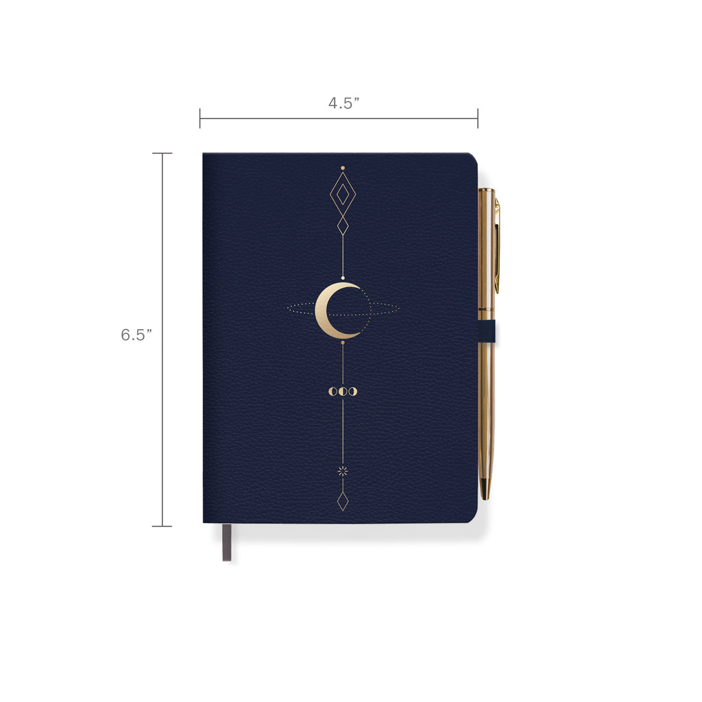 FRINGE STUDIO MOON TATTOO JOURNAL WITH SLIM PEN