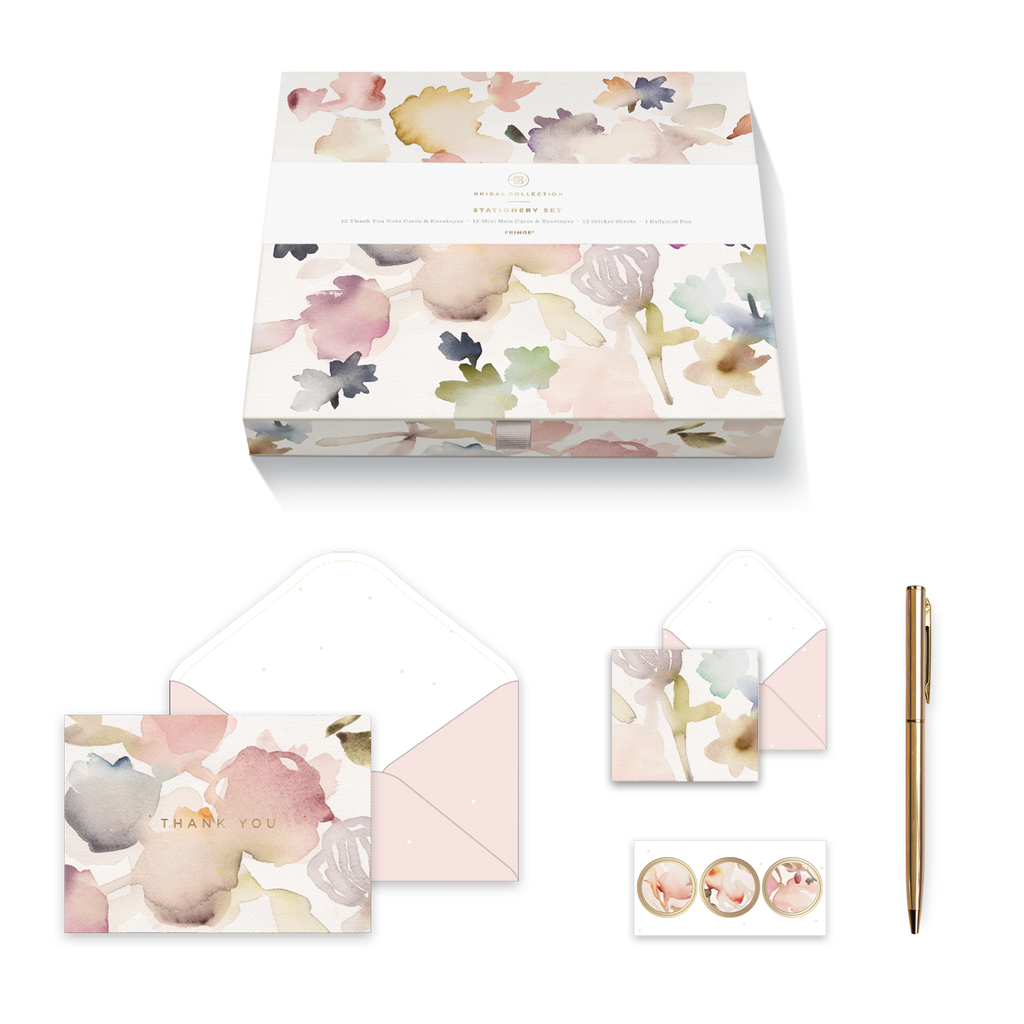 FRINGE STUDIO FLORAL NOTECARD SET