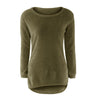 Image of Autumn Winter Womens Warm Casual 8 Color Long Sleeve Jumper Sweaters