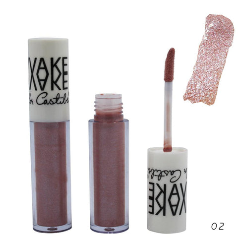 Hot Sale Bling Bling Glitter Lip Gloss Diamond Shine Lips Makeup Metallic colors Matte Lipstick Waterproof Long Lasting 12 color