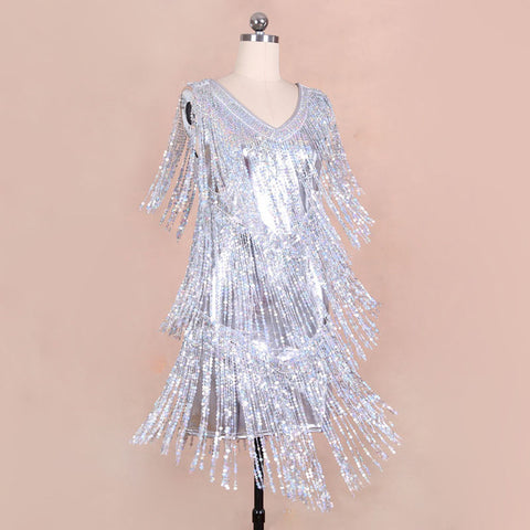 BLINGSTORY  Brand luxury dresses fashion bling-bling sequined women gold glitter