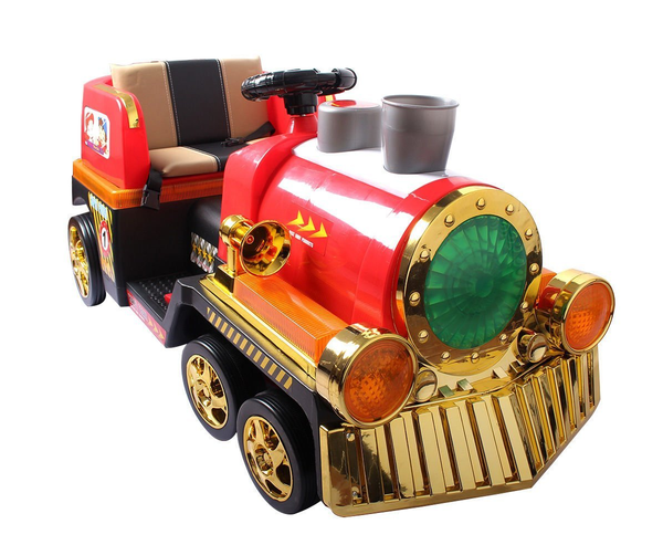 Magic Cars® Best Backyard Toy Train Ride On For Children W ...
