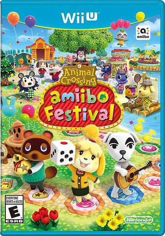ANIMAL CROSSING: AMIIBO FESTIVAL | WIIU PRE-OWNED