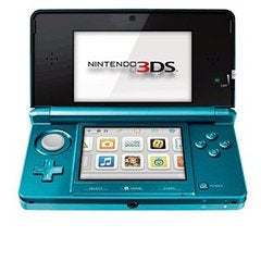NINTENDO 3DS CONSOLE - AQUA BLUE | 3DS PRE-OWNED