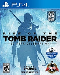 RISE OF THE TOMB RAIDER: 20 YEAR CELEBRATION | PS4 PRE-OWNED