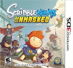 SCRIBBLENAUTS: UNMASKED | 3DS PRE-OWNED