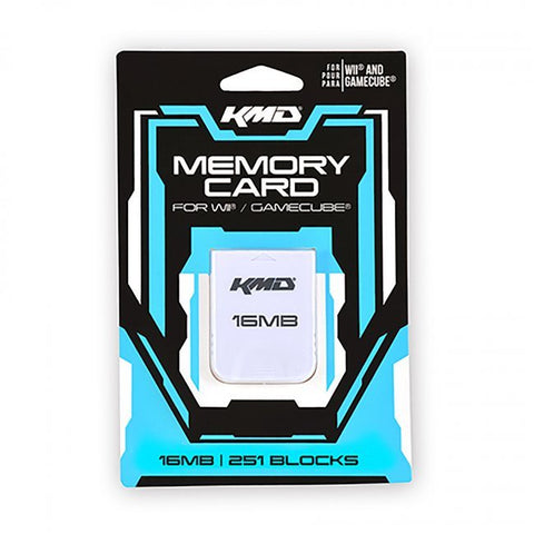 KMD WII 16MB MEMORY CARD | WII NEW