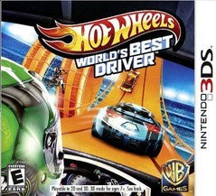 HOT WHEELS WORLD'S BEST DRIVER | 3DS PRE-OWNED