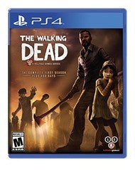THE WALKING DEAD A TELLTALE GAME SERIES FIRST SEASON | PS4 PRE-OWNED