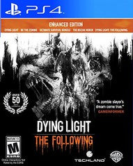 DYING LIGHT THE FOLLOWING | PS4 PRE-OWNED
