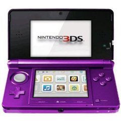 NINTENDO 3DS CONSOLE - MIDNIGHT PURPLE | 3DS PRE-OWNED