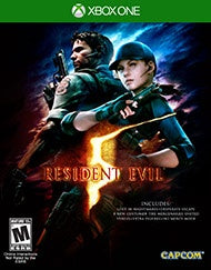 RESIDENT EVIL 5 HD | XBOX ONE PRE-OWNED