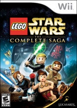 LEGO: STAR WARS COMPLETE SAGA | WII PRE-OWNED