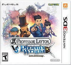 PROFESSOR LAYTON VS PHOENIX WRIGHT | 3DS PRE-OWNED